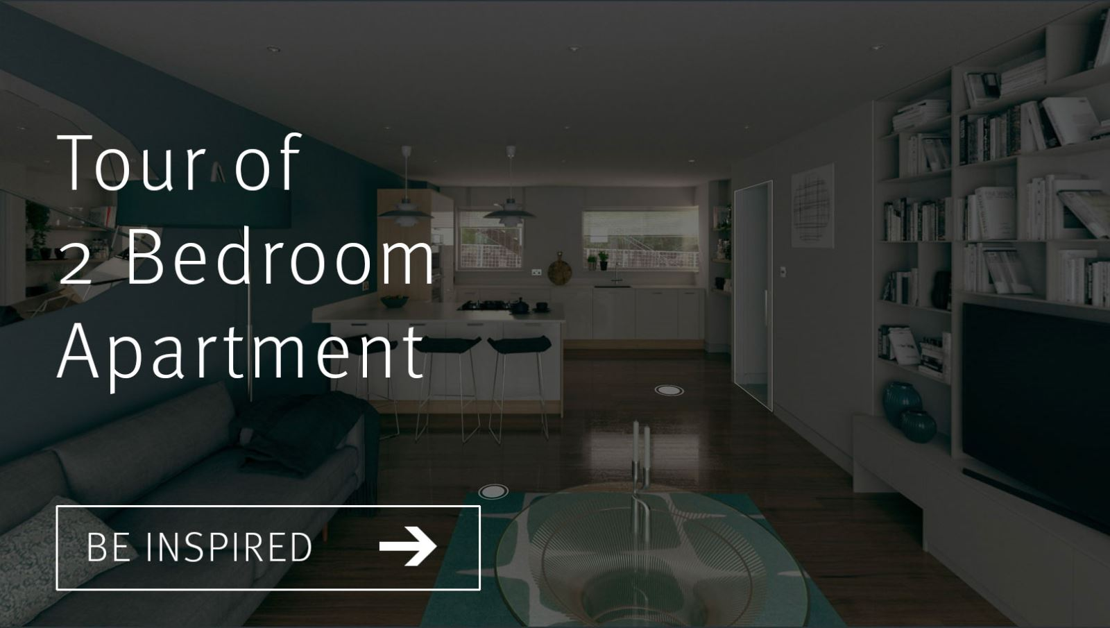Tour of 2 bedroom apartment